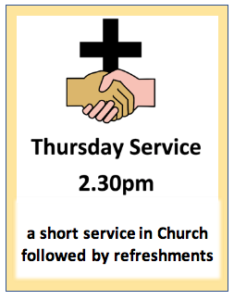 Thursday Service @ St. Cuthbert's Church