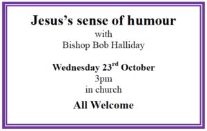 Jesus's Sense of Humour